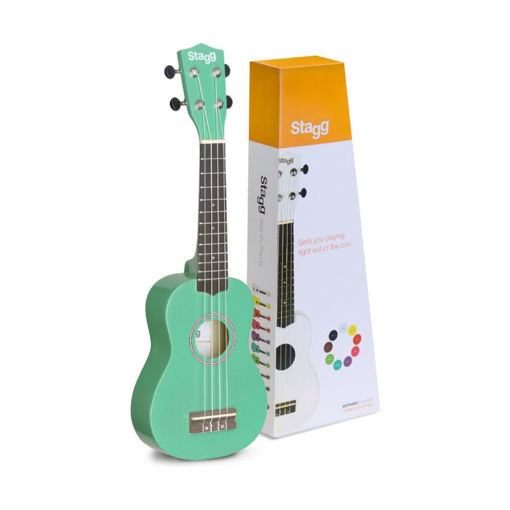 Picture of Ukulele Soprano Stagg US-GRASS