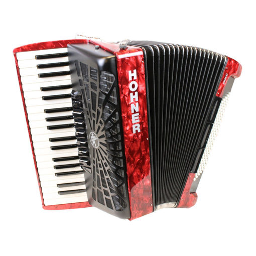 Picture of Hohner Bravo III 96 Red
