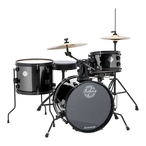 Picture of Ludwig LC178X Pocket Kit BK Sparkle